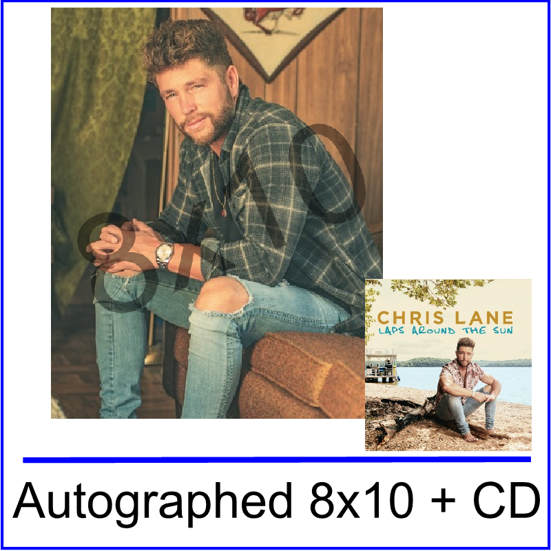Chris Lane Laps Around the Sun Bundle #1- PRESALE