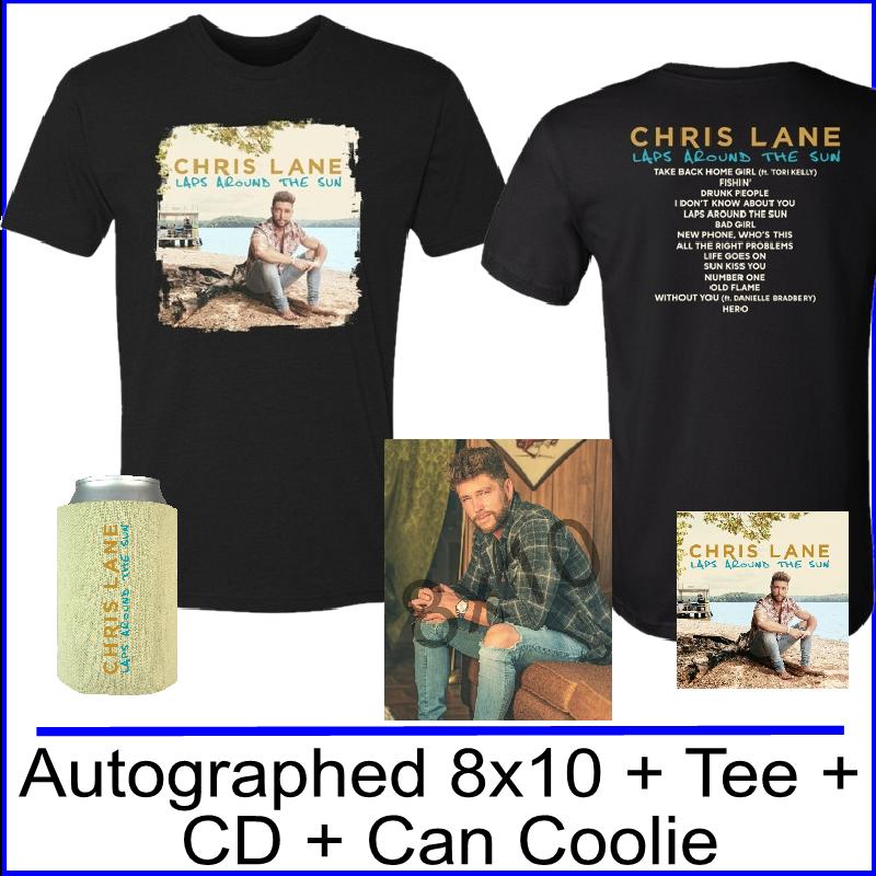 Chris Lane Laps Around the Sun Bundle #3- PRESALE