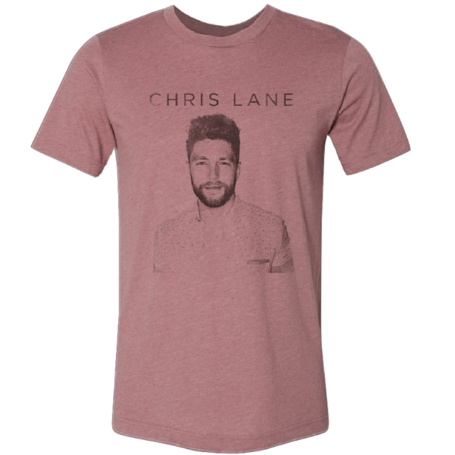 Chris Lane Heather Mauve Tour Tee