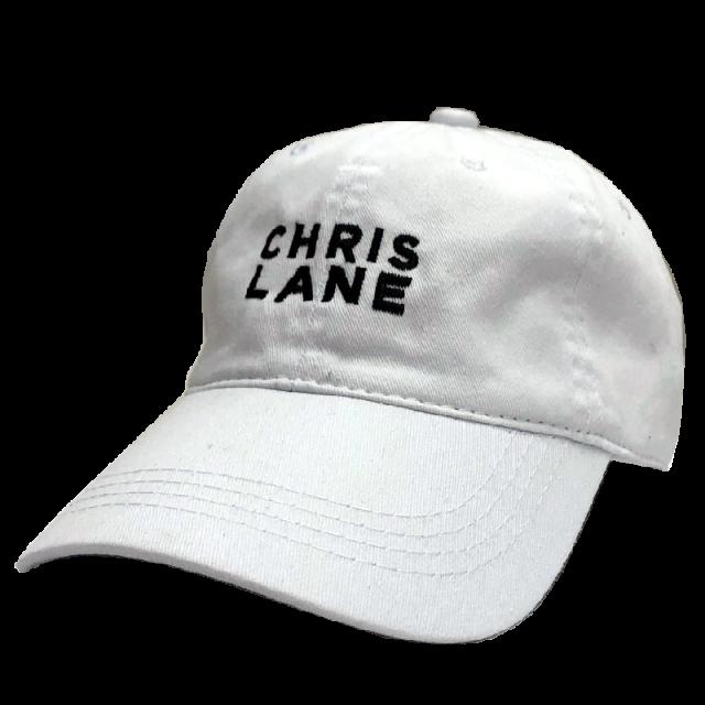 Chris Lane White Ballcap