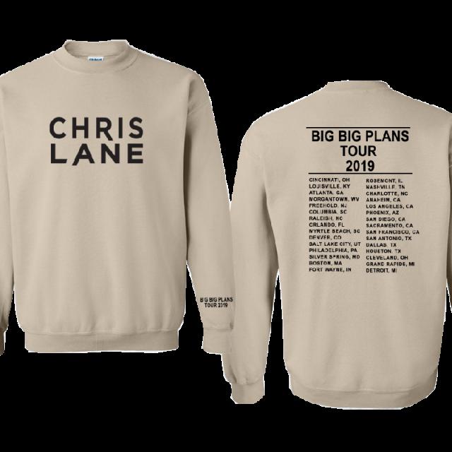 Big big plans tour dates